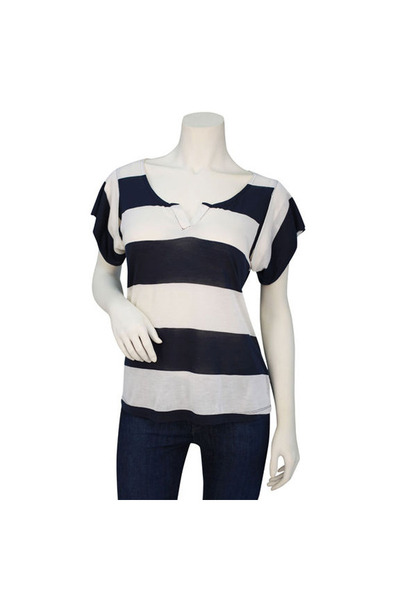 cotton striped covet shirt