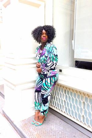 Brigette Clarice blazer - Brigette Clarice pants - Brigette Clarice top