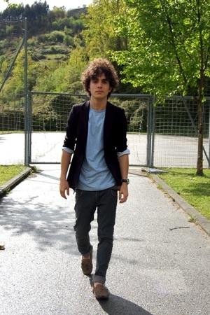Comme des Garcons blazer - united colors of benetton t-shirt - H&M jeans - Super