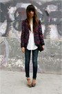 Currentelliot-jeans-floral-silence-noise-blazer