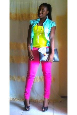 pants - heels
