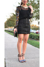 Black-sheer-rodarte-x-target-blouse-blue-glitter-zara-heels