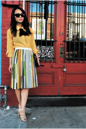 pleated Tibi skirt