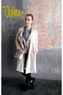 Beige-h-m-coat-black-h-m-jeans-heather-gray-h-m-shirt