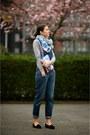 Russell-bromley-shoes-mih-scarf-finders-keepers-bag-asos-sweatshirt
