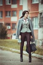 heather gray baska Oggi jacket - heather gray New Yorker coat