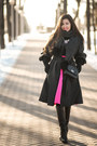 Black-mini-cndirect-bag-hot-pink-midi-cndirect-skirt