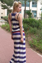 purple H&M dress - purple