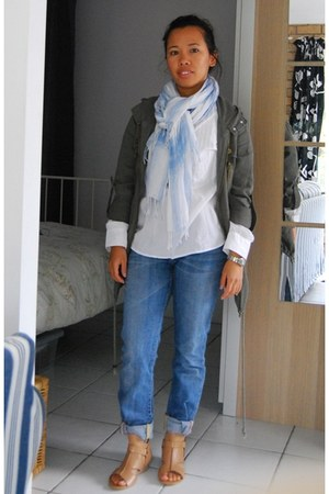 Whittner shoes - paperdenim&cloth jeans - SeebyChloe shirt - Witchery scarf