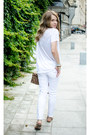 Brown-suiteblanco-bag-white-stradivarius-pants-white-h-m-t-shirt