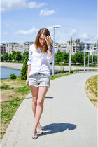 Bershka shirt - Bershka shorts