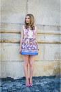 White-sheinsidecom-dress-light-pink-lovelywholesale-heels
