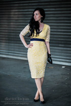 yellow lace Vesper247 dress
