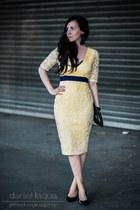 yellow lace Vesper247 dress