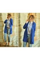 blue max&co coat