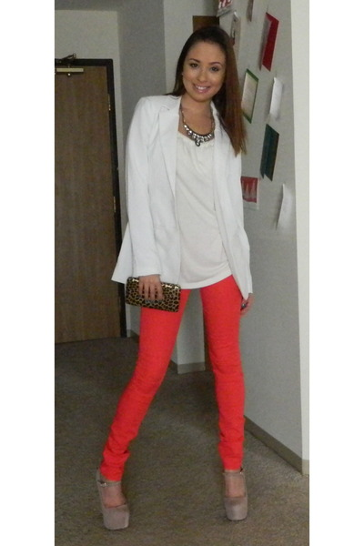 Red Jeans And Tops | Jeans To