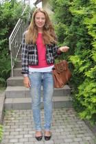 Primark sweater - Primark jacket - Topshop shoes