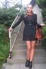 Black-zara-blazer-black-topshop-dress-black-don-donna-shoes