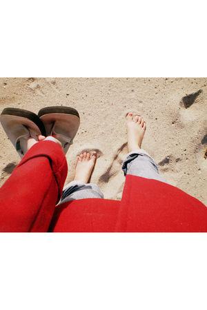 coat - jeans - shoes