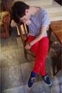 Navy-zara-shoes-blue-h-m-socks-ruby-red-shocking-red-h-m-pants-navy-stripe