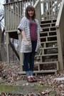 Navy-h-m-jeans-eggshell-forever-21-sweater-crimson-h-m-shirt