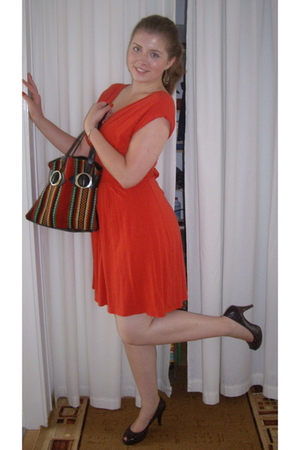 H&M dress - gift from my grandma purse - Amisu shoes