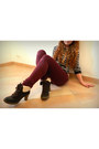 Brown-bata-boots-burgundy-f-de-la-passion-jeans-cream-new-look-blouse