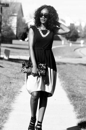 ann taylor dress - Rebecca Minkorff shoes - Antonio Melani bag