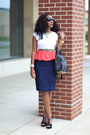 Alice-olivia-dress-alexander-wang-bag-j-crew-skirt-ann-taylor-necklace