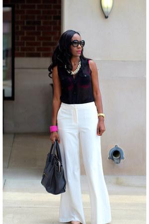 Victorias Secret pants - Forever 21 shirt - Celine bag