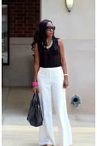 Victorias Secret pants - Forever 21 shirt - Celine bag