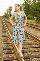 vintage 40s dress