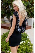 black Justyna G dress
