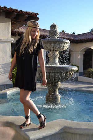 H&M dress - sam edelman sandals