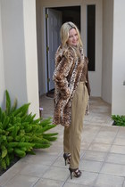 Zara blouse - Zara pants - LAMB heels - H&M belt
