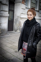 deezee boots - Saska Fashion jacket - adidas bag - Mr Gugu&Miss Go skirt