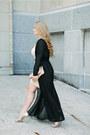 Venus-dress-clare-v-bag-stuart-weitzman-heels