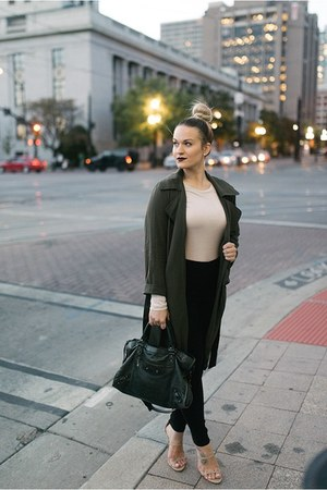 Forever 21 jacket - balenciaga purse
