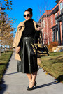 Bebe coat - Mango shirt - PROENZA SCHOULER bag - Karen Walker sunglasses