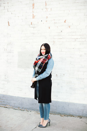 vest - Mossimo jeans - Rebecca Minkoff bag