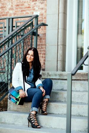 Paige Denim jeans - PROENZA SCHOULER bag