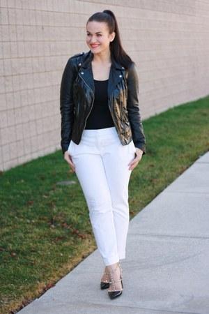 Muubaa jacket - Valentino heels
