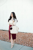 Forever 21 skirt - Forever 21 sweater - Alexander Wang bag