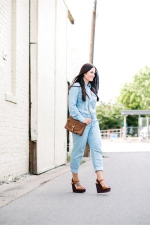 Rebecca Minkoff bag - Valentino wedges - Forever 21 jumper