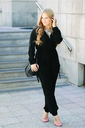 Missguided jumper - PROENZA SCHOULER bag - stuart weitzman sandals