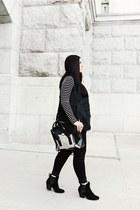 31 Phillip Lim bag - rag & bone boots - AmiClubWear vest - Forever 21 top