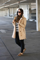 Walter Baker jacket - Zara sweater - H&M scarf - Ray Ban sunglasses