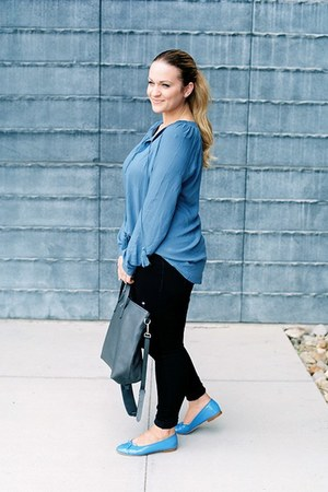 venus blouse - Paige Denim jeans - madewell purse