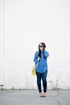 Manolo Blahnik shoes - asos jeans - 31 Phillip Lim bag - grey ant sunglasses