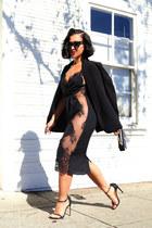 KTRcollection dress - stuart weitzman sandals